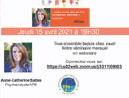 Séminaire mensuel Association des Psychanalystes Européens